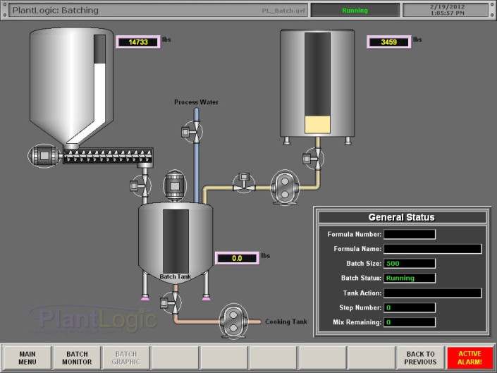 Plant Logic Batching - Manufacturing Information Systems